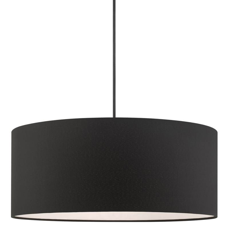 Livex Lighting 45660 04 Bainbridge 3 Light 18 Build Com In 2021 Drum Chandelier Livex Lighting Drum Pendant Lighting