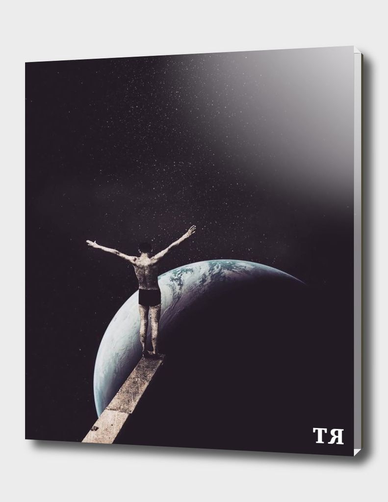 «Zero Gravity», Limited Edition Acrylic Glass Print by TRASH RIOT - From $75.00…
