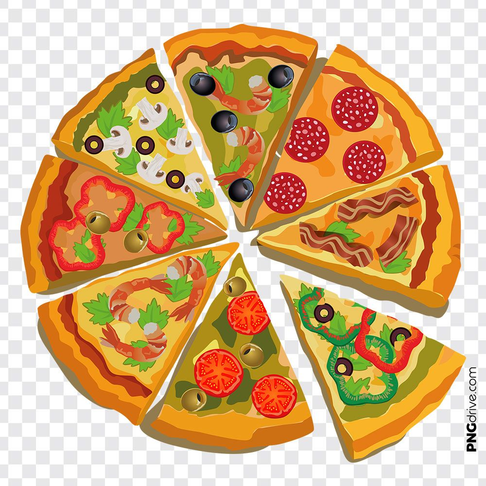 Pin By Png Drive On Pizza Png Images Pizza Shapes Pizza Art Pizza Vector