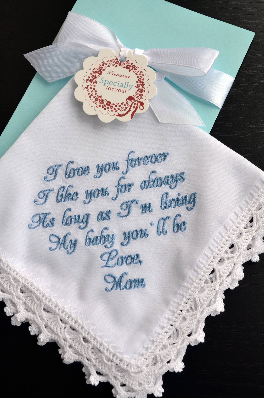 Something Blue For Bride Wedding Gift From Her Mom Daughter Mother Giftforbride Somethingblue
