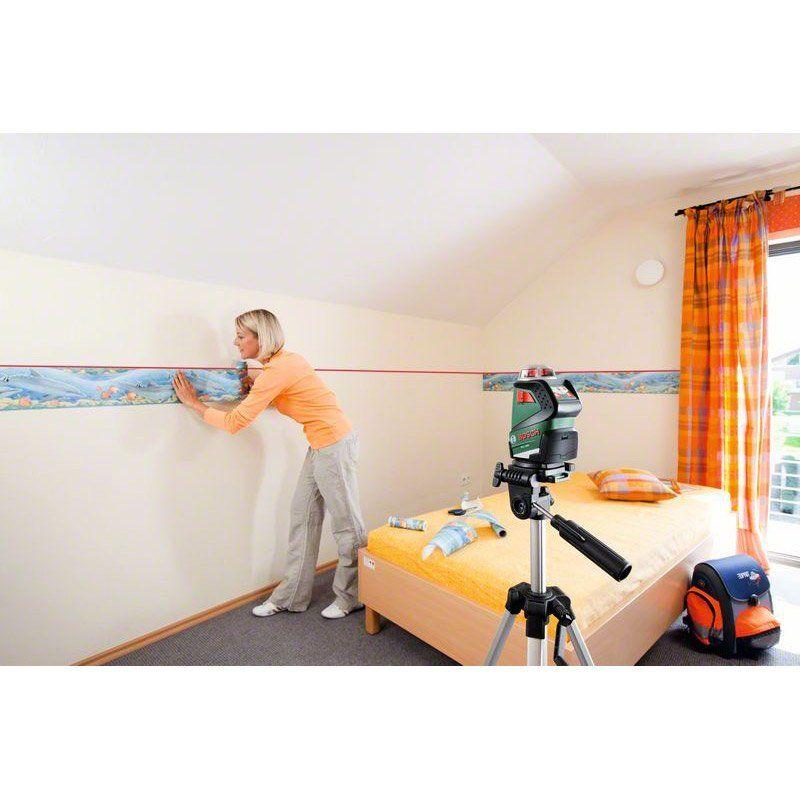 Niveau Laser Rotatif Et Trepied Bosch Pll 360 Set Premium Trepied Bosch