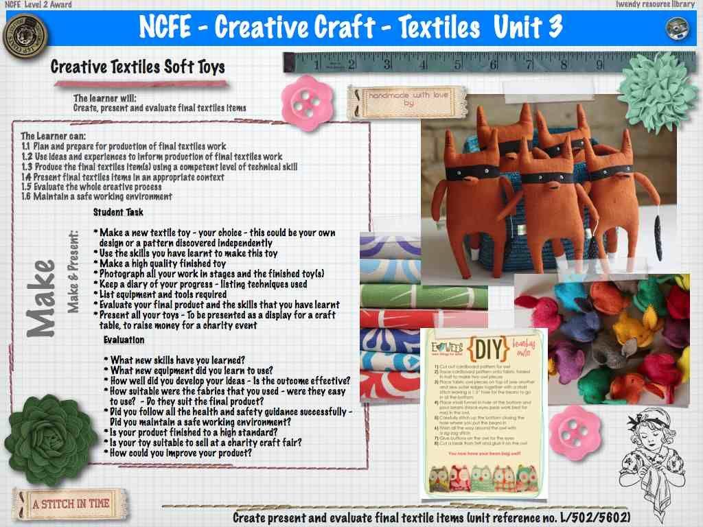 As Wjec Textiles