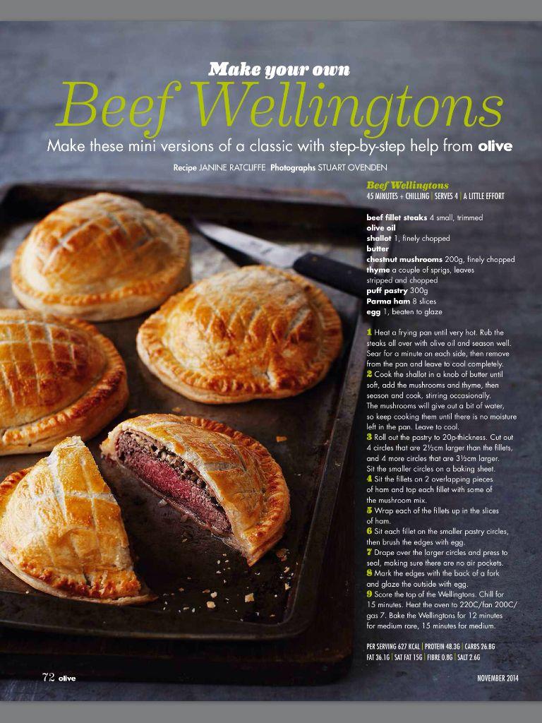 Beef Wellingtons 1 | Beef recipes easy, Beef wellington ...