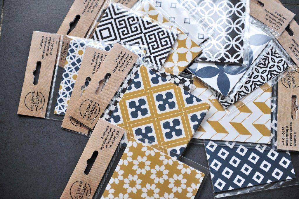 Des Stickers Carreaux De Ciment Pour Relooker Ma Cuisine Maison Bichette Sticker Carreaux De Ciment Adhesif Carreaux De Ciment Sticker Cuisine