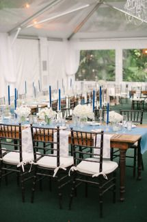 Keep cool in the air conditioned tent Elegant Toile Inspired Miami Garden Wedding | Photos & Keep cool in the air conditioned tent Elegant Toile Inspired Miami ...