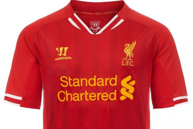 2bd82af4b Liverpool FC Unveil New Home Kits for 2013-14 Season