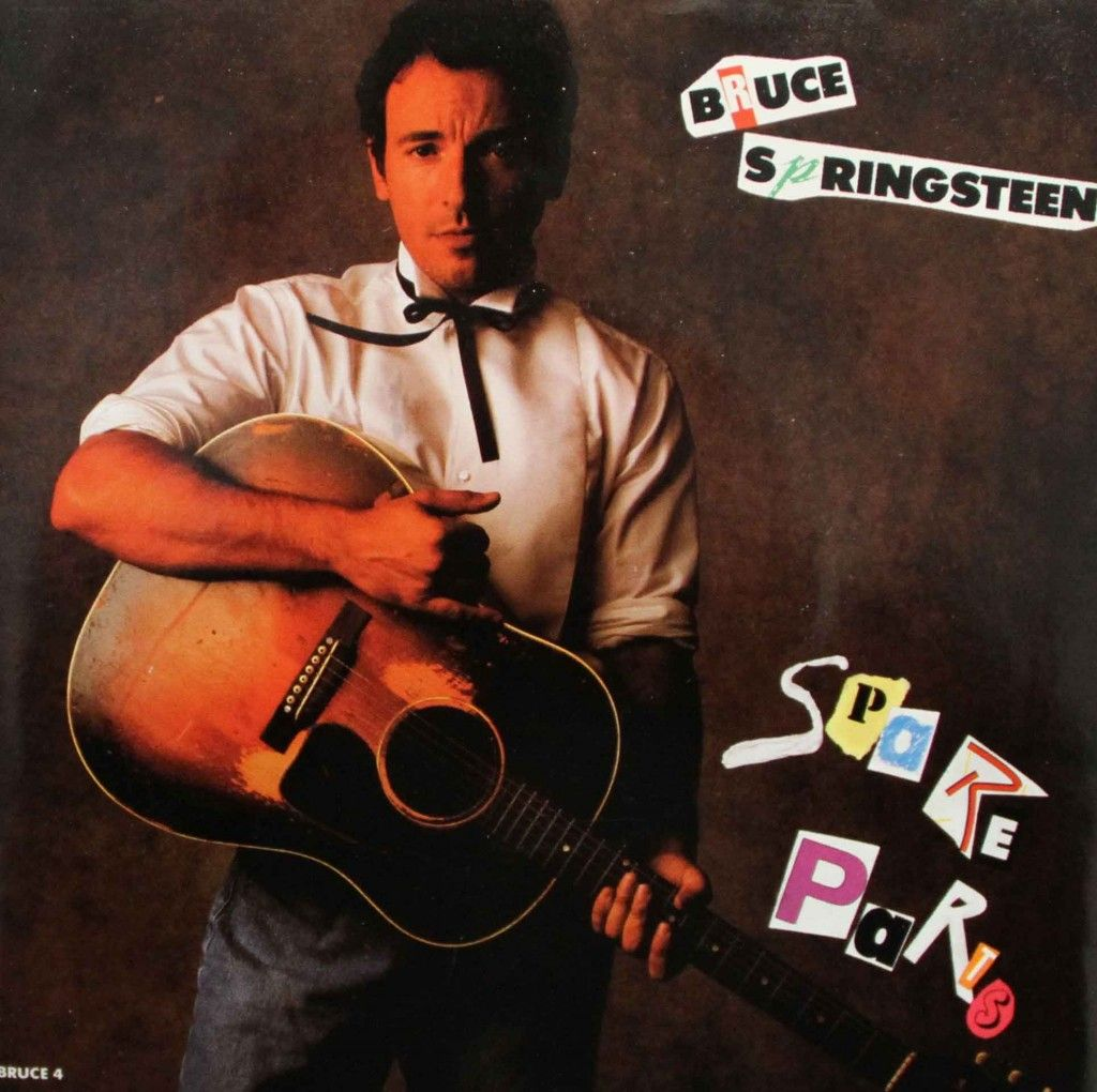 Bruce Springsteen 45 RPM Cover