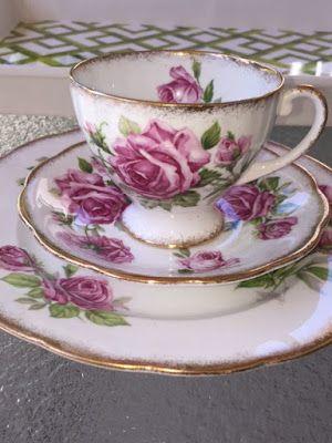 Teacup Tales~Royal Standard Orleans Rose