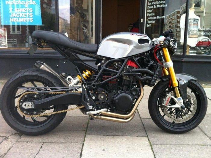 Kawasaki Z750 Cafe Racer Google Search Motorcycles Cafe Racer