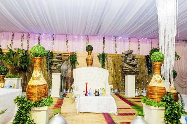 Nigerian Traditional wedding decor ~ ForStyleSake