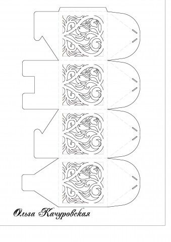Pin von Christelle Cervero auf Kirigami   Pinterest   Sarg, Boxen ...
