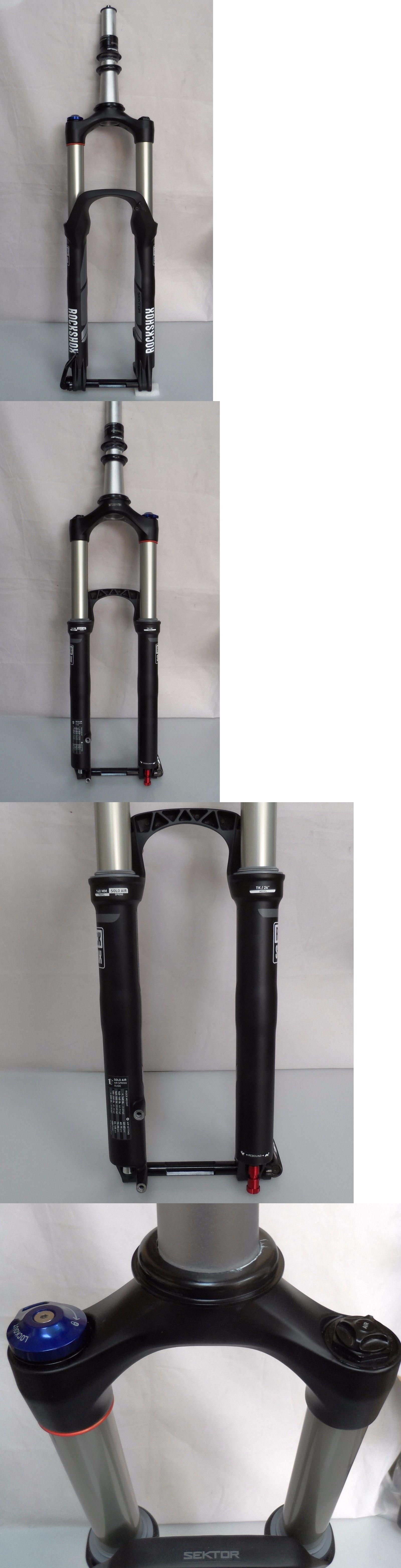 Forks 177815: Rockshox Sektor Tk 26 Mtb Suspension Fork 140Mm, Solo Air, Tapered, Black, New -> BUY IT NOW ONLY: $199.99 on eBay!