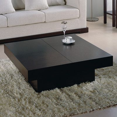 Wade Logan Benitez Coffee Table With Storage Products Table
