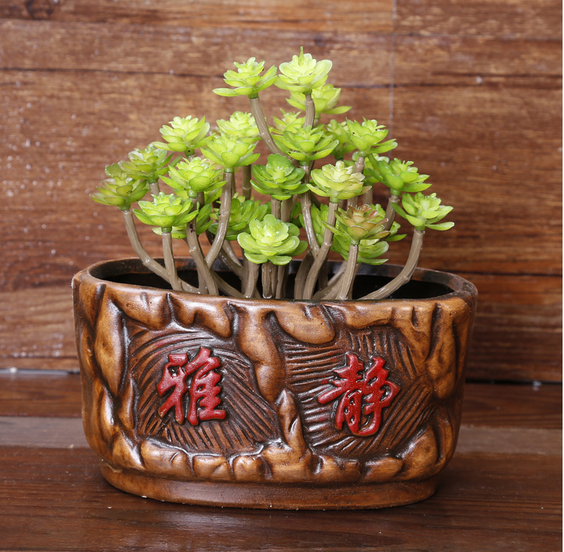mini cheap ceramic flower pots and planter for sale, View