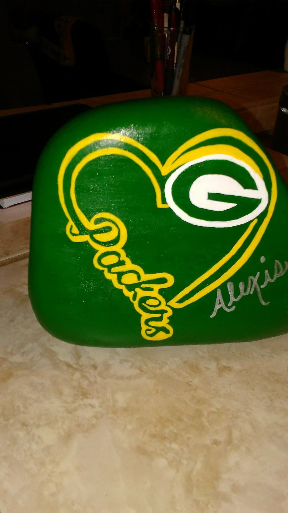 Green Bay Packer Skull I 39 D Love To Do This As A Tattoo Green Bay Packers Art Green Bay Packers Tattoo Green Bay Packers Funny