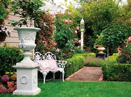 Beautiful English Gardens | Fantastic Garden Design Turned A Beautiful  Garden Courtyard .