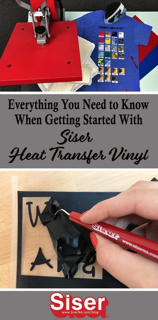 Your go to guide for all things HTV! Siser brings beginners everything they need to know when starting out with heat transfer vinyl in this quick blog post.