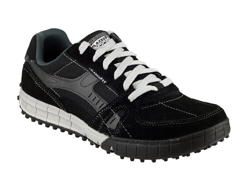 Skechers SK51328 Mens Relaxed Fit: Floater Lace Up Trainer Shoe - Robin Elt  Shoes http