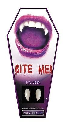 4 x Vampire Fangs Halloween Teeth Scarecrow Denture Dracula Scary Fancy New