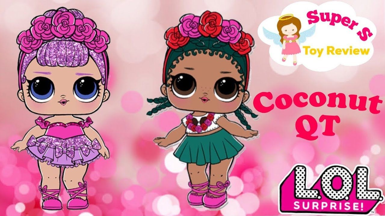 LOL Surprise LiL Sisters L.O.L Curious QT STORY BOOK club doll color change toy