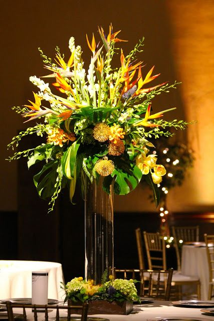 lois mathews design tropical centerpiece at the prado in balboa rh pinterest com
