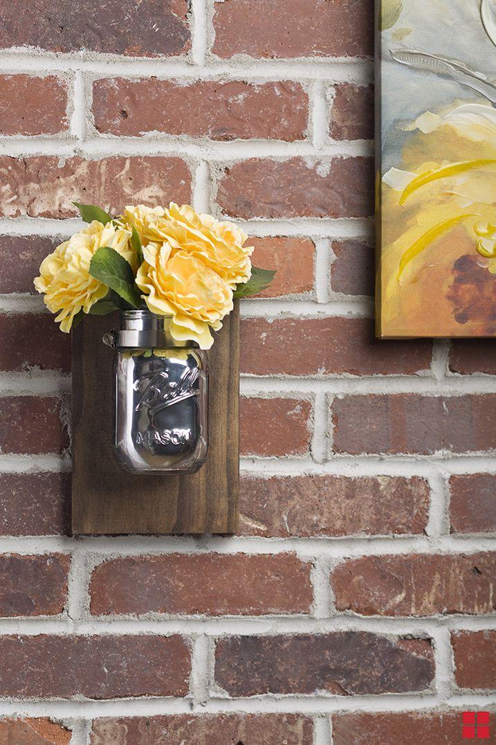 Mason Jar Wall Sconce Diy Shabby Chic