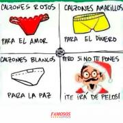 57a1def1722c Calzones rojos para año nuevo | diversión | Funny, Spanish Humor y ...