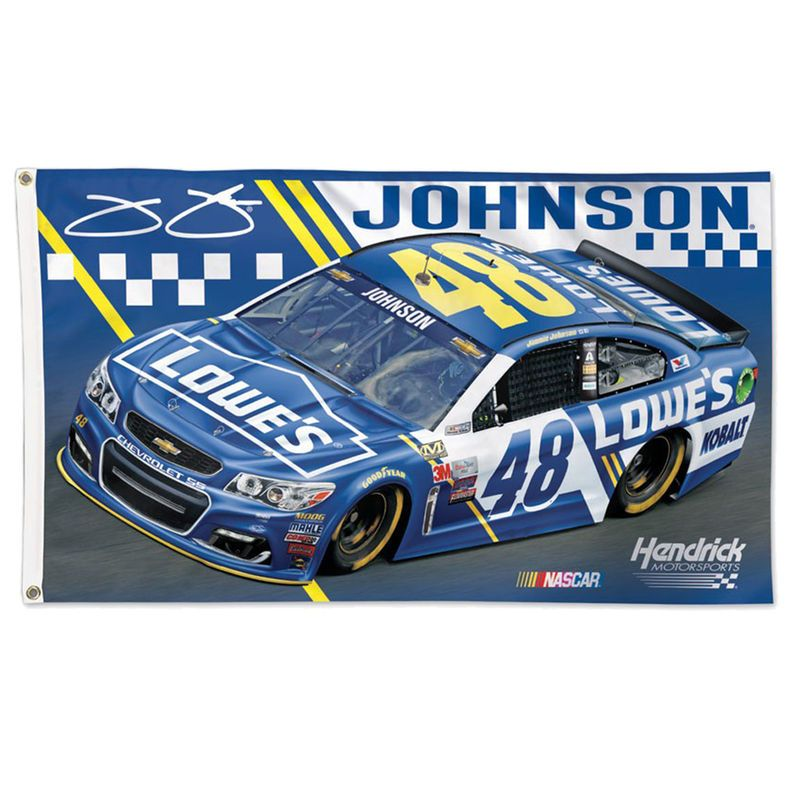 Jimmie Johnson WinCraft 3' x 5' Lowe's Double-Sided Flag