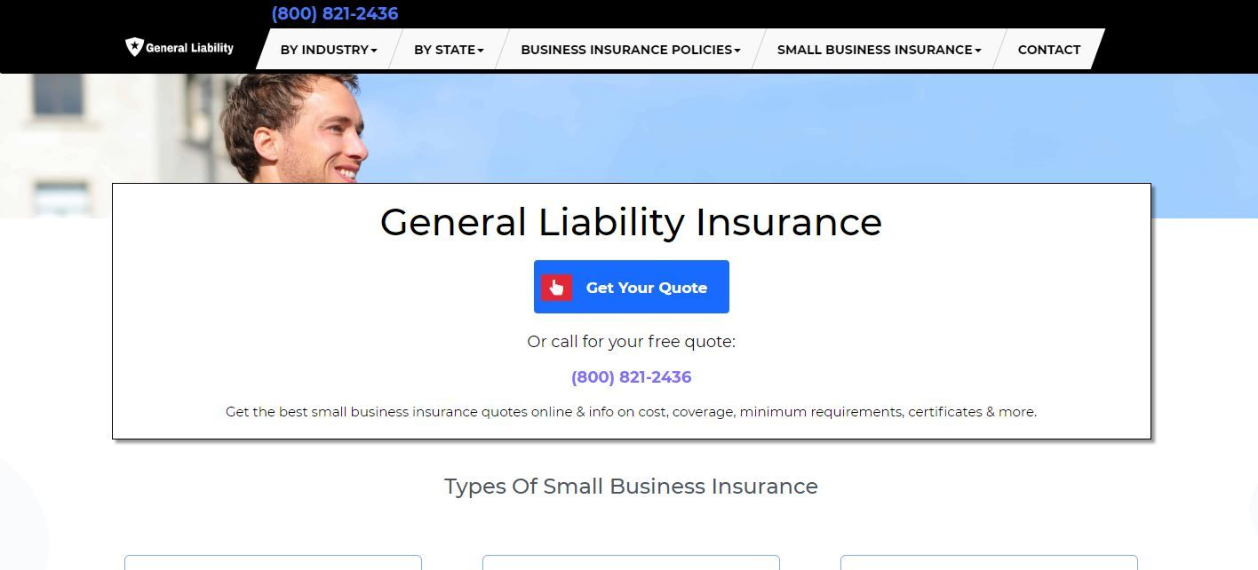 General Liability Insurance Commercial General Liability