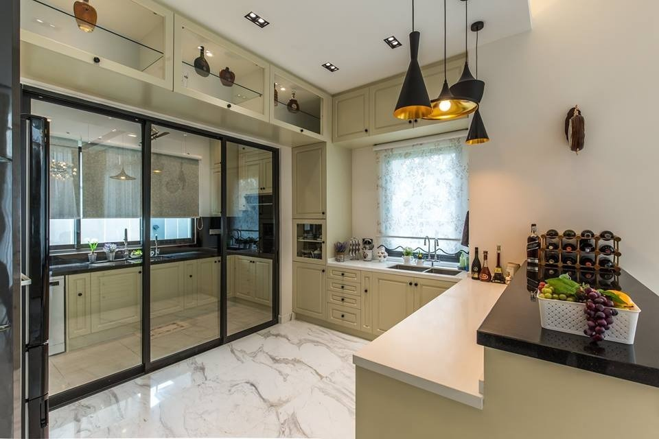 14 Wet And Dry Kitchen Design Ideas In Malaysian Homes Wet And Dry
