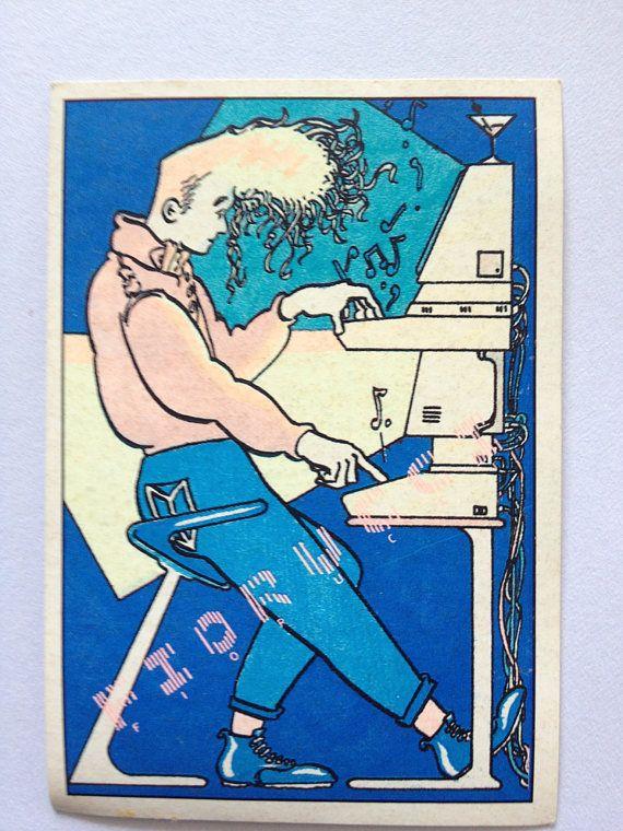 Fiorucci Sticker Electron Panini No 71 Series 28 1984