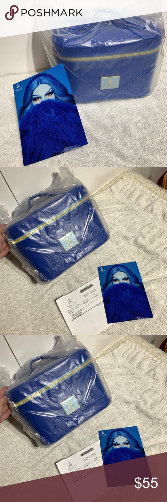 29512524a4fa40 Jeffree Star Royal Blue Makeup Bag 💙 Jeffree Star Royal Blue Make Up Bag  💙 *
