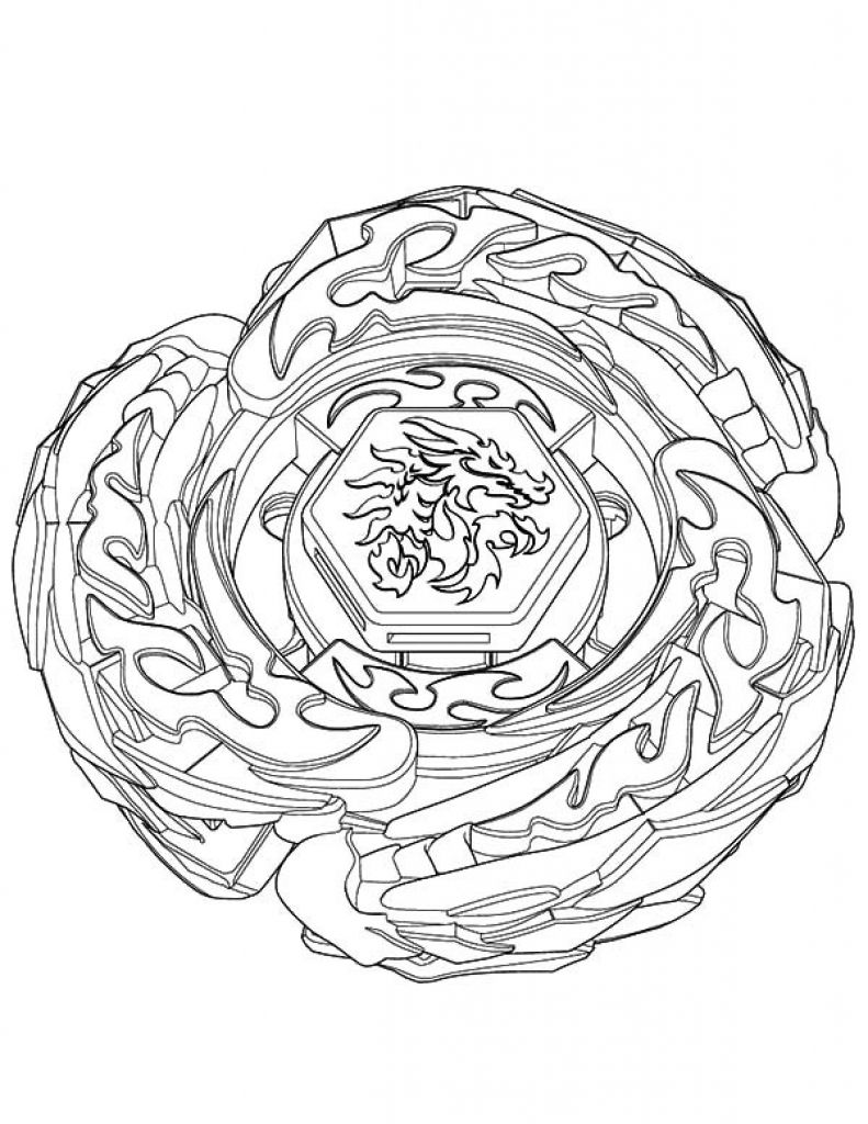 explosive shoot beyblade coloring pages for kids