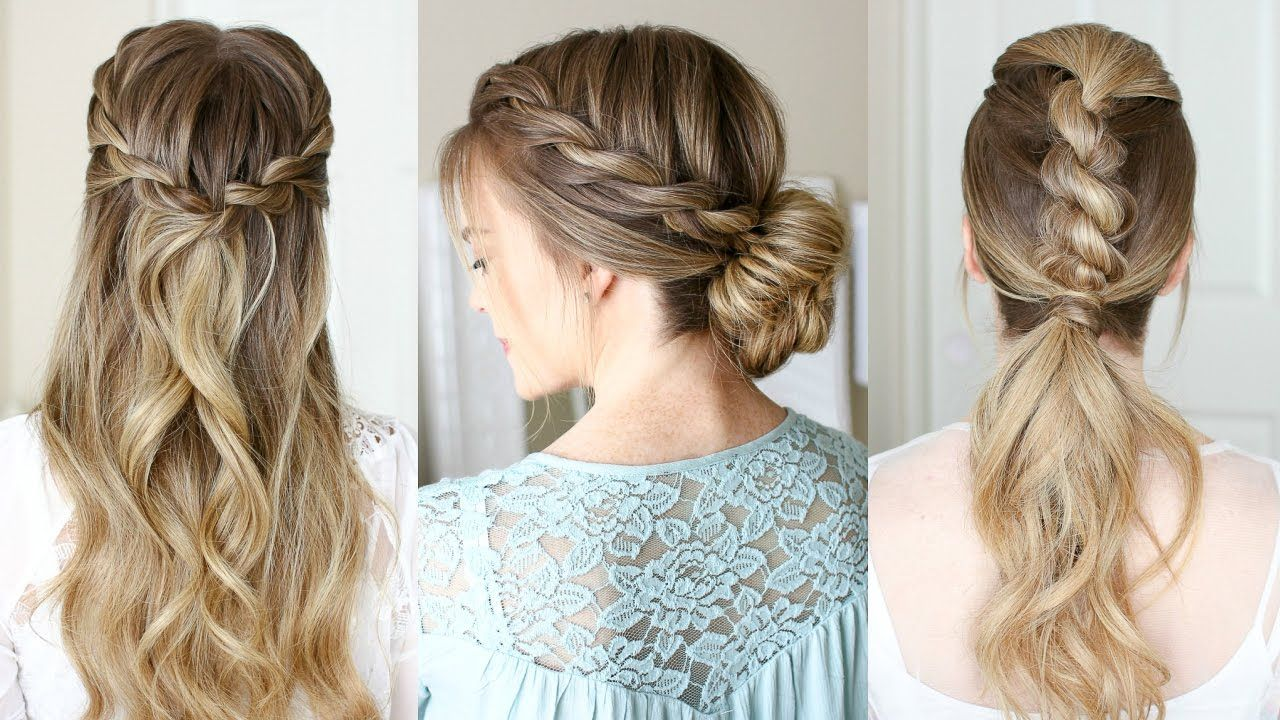 easy rope braid hairstyles missy sue modern hair pinterest