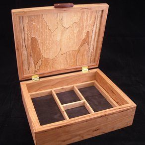 handmade wooden jewelry boxes plans Box Pinterest Jewelry box