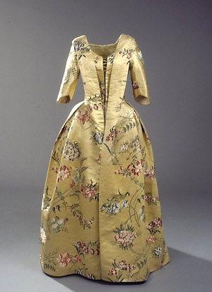 Dress French 1750 Victorianske Kjoler Mode Ideer Kjole