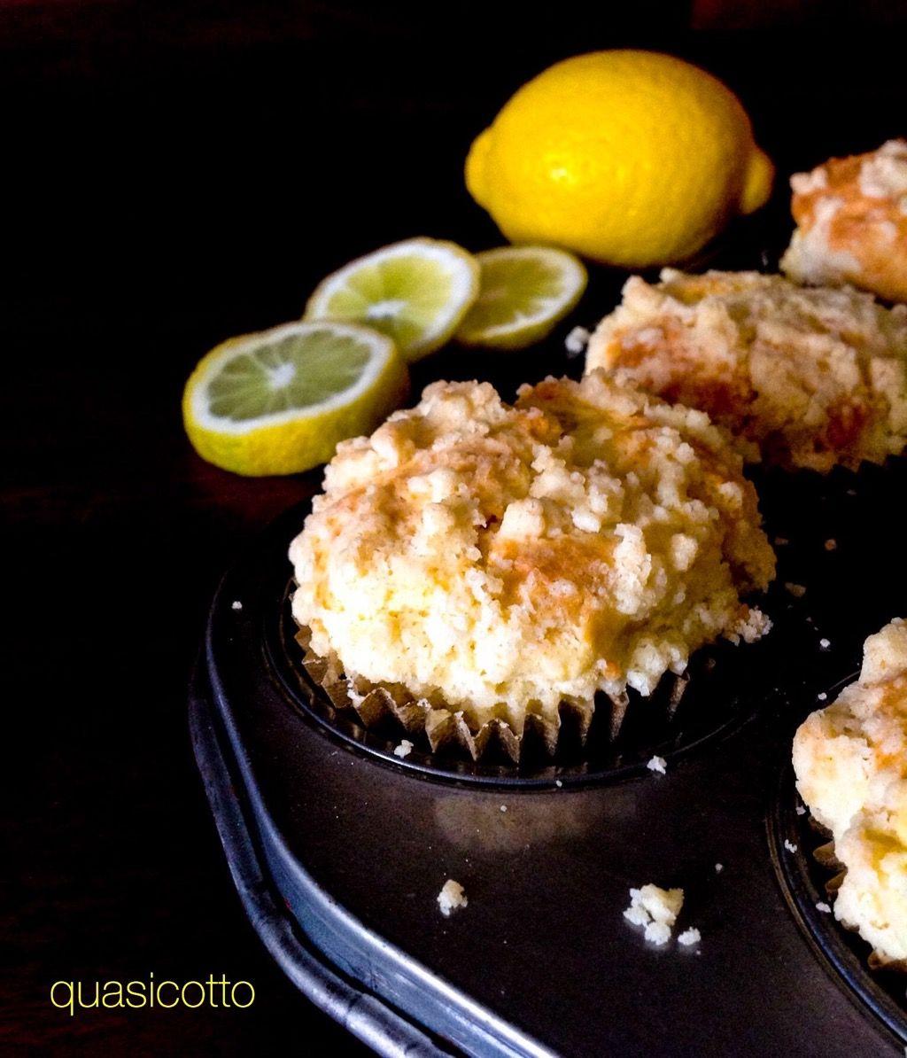 Muffins Al Limone Con Crumble Croccante Dolcetti Adatti A Tutte Le