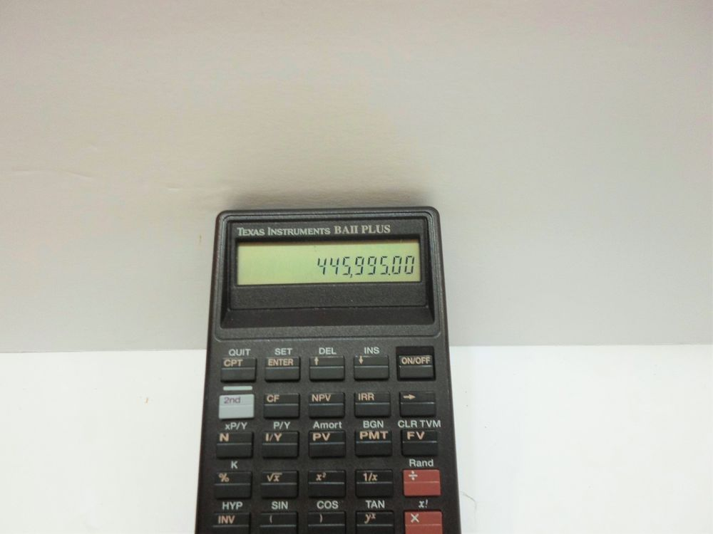 Texas Instruments Ba Ii Plus Financial Calculator  Instruments