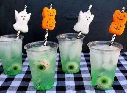 Halloween Fun Kids Party Drink Ideas Kidsparty Halloween Kids