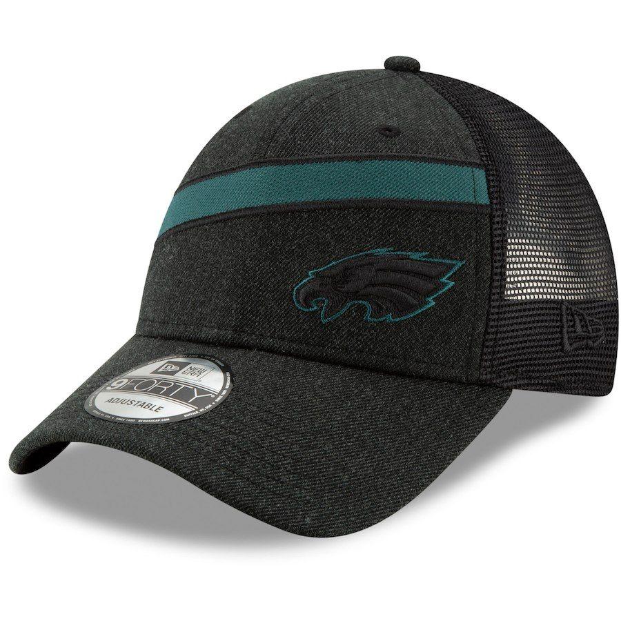 Preschool Philadelphia Eagles New Era Midnight Green Patched Pride 9TWENTY  Adjustable Hat 238f4ab1359b
