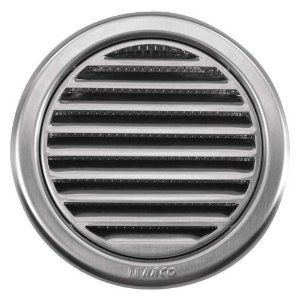 Circular Stainless Steel Air Vent Grille Cover 216 110mm 4 3