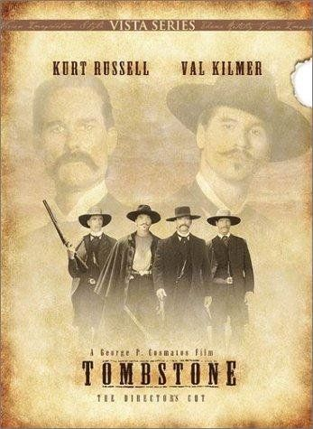 Why I Love Tombstone: watched this movie since i was a little girl (not kid friendly but whatever), quote it almost daily because it's packed with great one liners and badass scenes, it's my dads absolute favorite movie, the cast is beyond fantastic and is the only movie in which i truely like val kilmer and that's because he OWNS his part of Doc Holliday...absolutely owns.