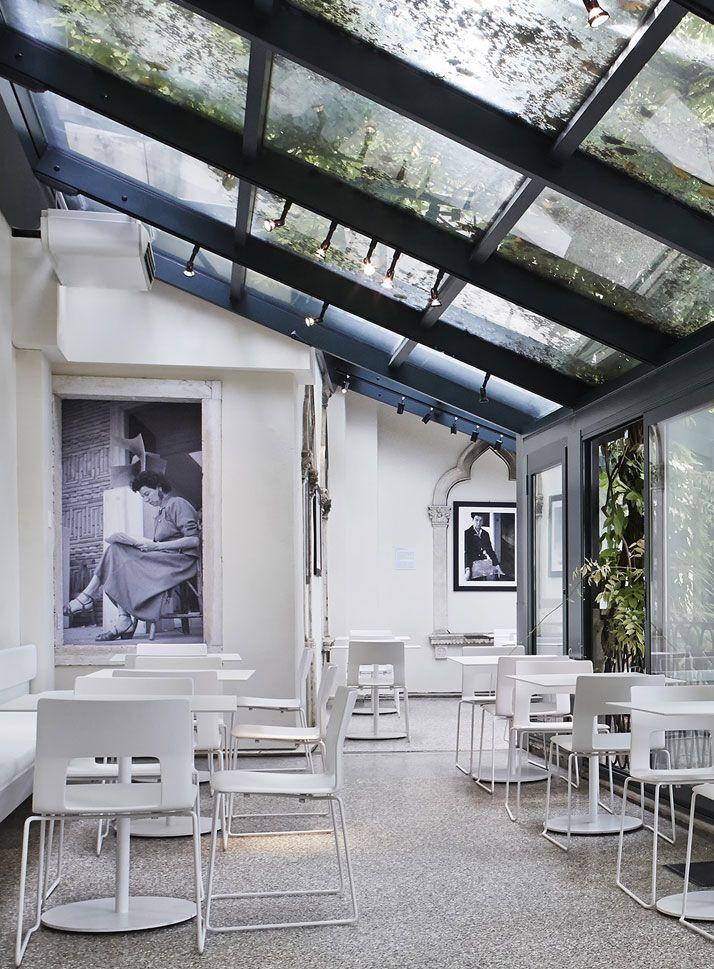 Guggenheim Venice cafe