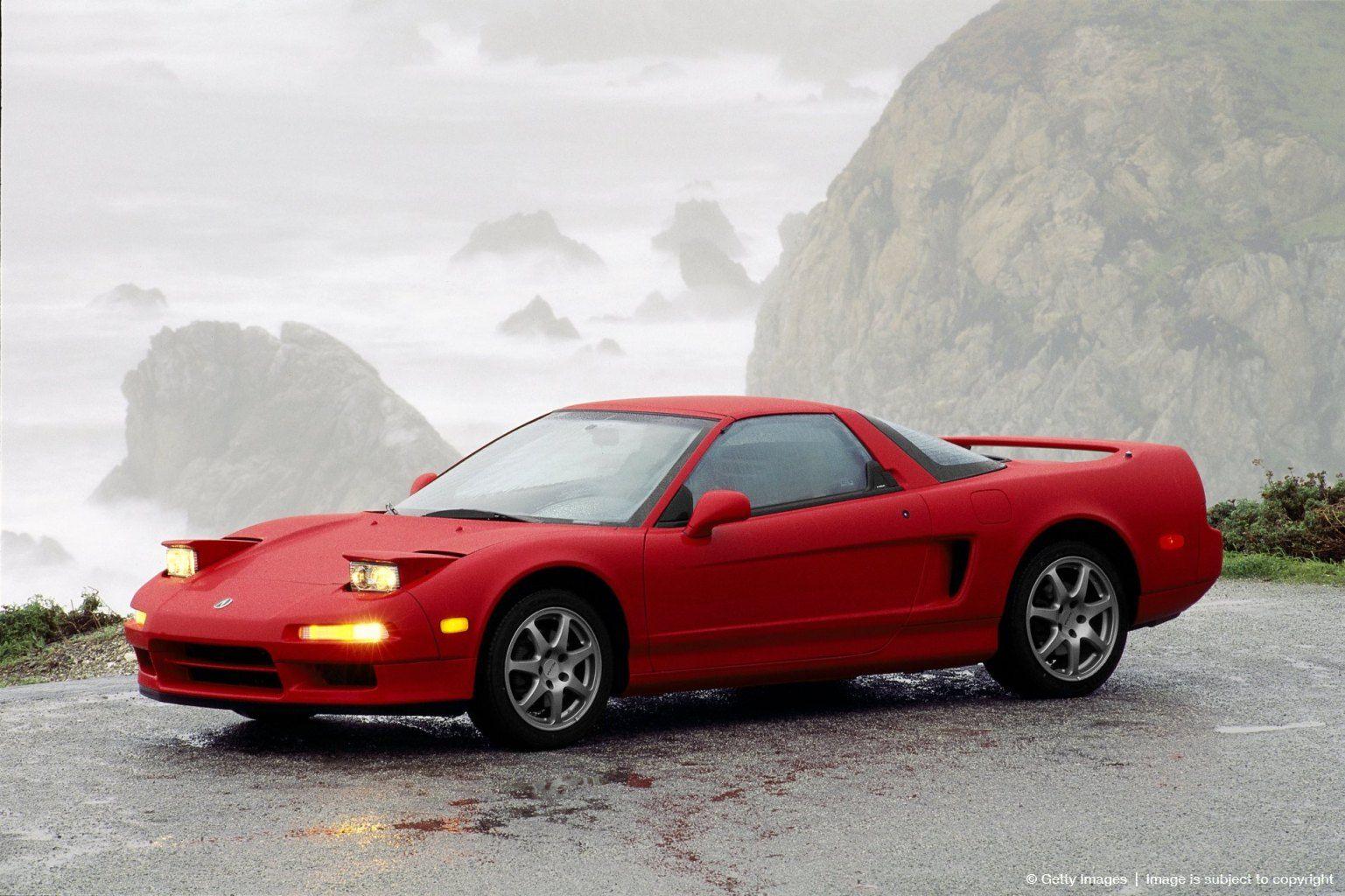 1990 Red Acura NSX Cars Honda sports car, Acura nsx
