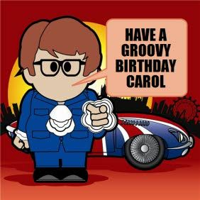 Austin powers birthday cards diamond jubilee pinterest austin austin powers birthday cards bookmarktalkfo Image collections
