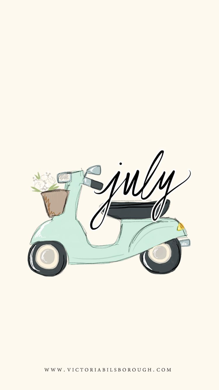 July wallpapers printable calendar wallpaper illustrations and doodles biocorpaavc Choice Image