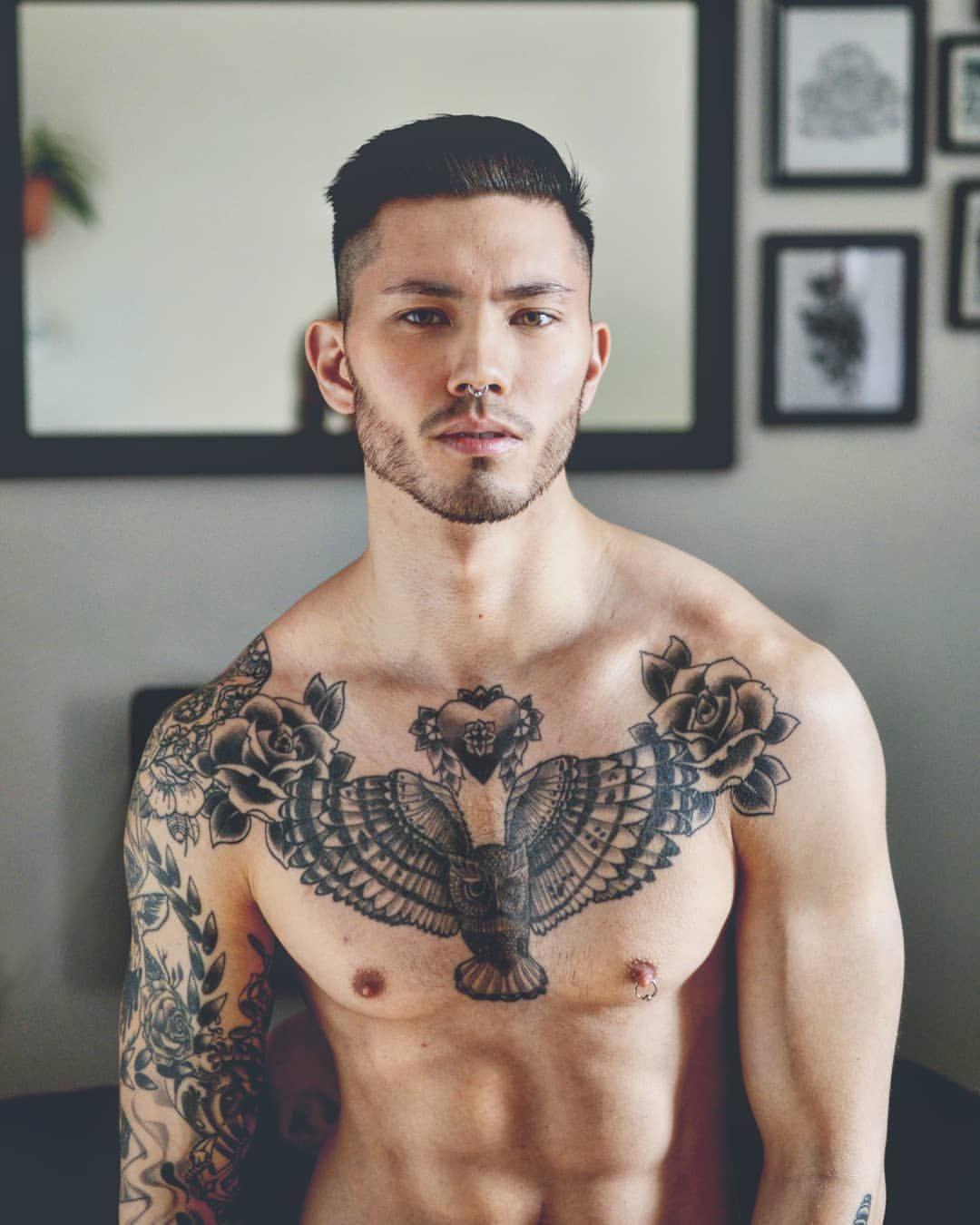Stevotrann Sur Instagram Chest Tattoo Men Boy Tattoos Tattoos For Guys