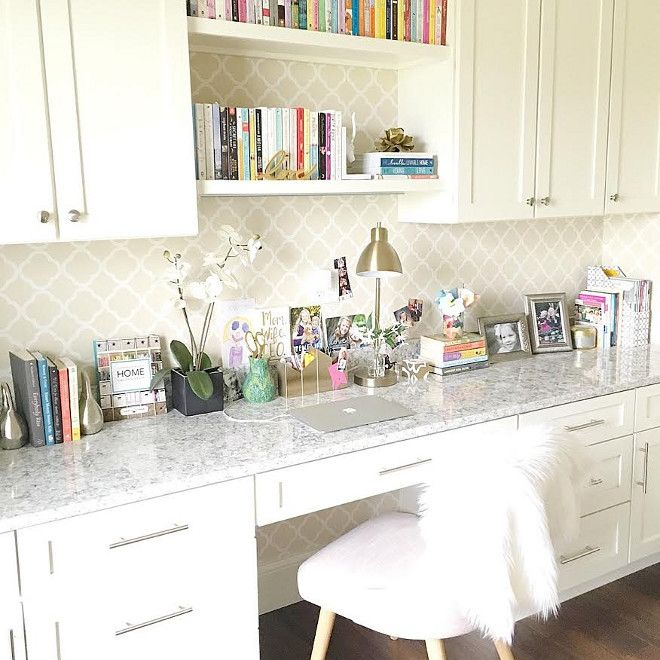 Home Office Cabinet Countertop