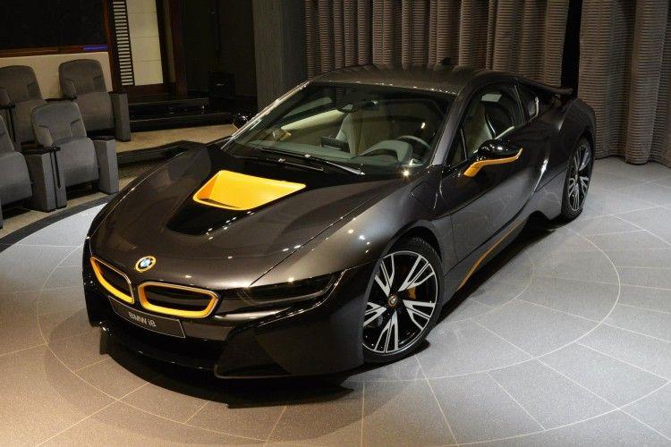 Image Of Bmw I8 Folierung Gelb Grau Abu Dhabi 06 750x500 Cool
