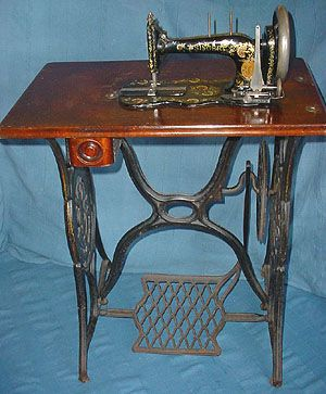 Dating antique treadle sewing machines
